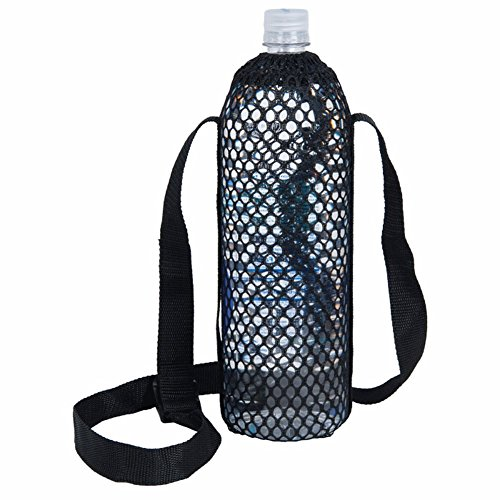 (Mesh Water Bottle Carrier - Assorted)