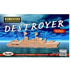 3D Natural Destroyer Wood Puzzle