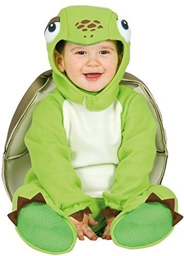 Baby Girls Boys Green Turtle Tortoise Sea Animal Halloween Carnival Fancy Dress Costume Outfit 6-24 Months (6-12 Months) -