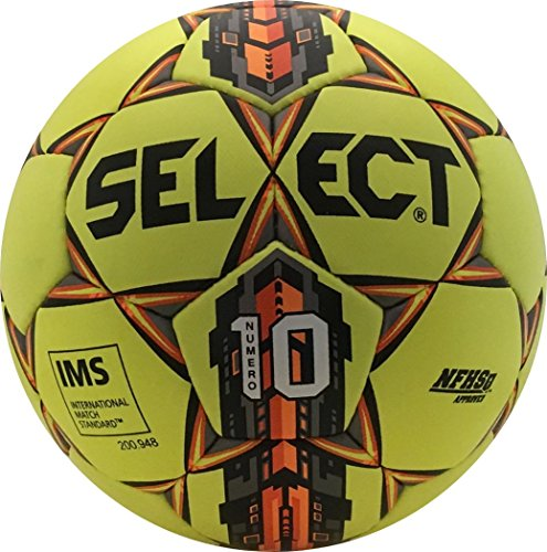 Select Numero 10 Soccer Ball  Yellow Orange  5