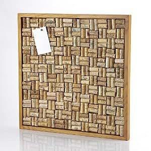 Wine Enthusiast Wine Cork Board Kit, Large