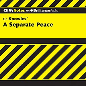 A Separate Peace: CliffsNotes Audiobook