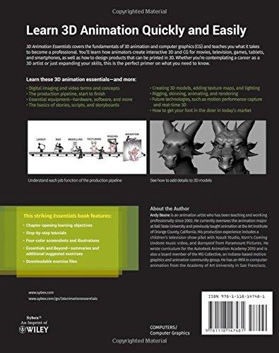 3D Animation Essentials (Essentials (John Wiley)): Amazon co uk
