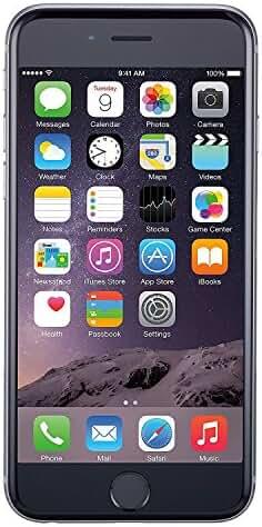 Apple iPhone 6 16GB Unlocked GSM Smartphone - Space Gray (Certified Refurbished)