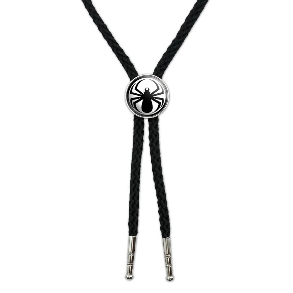 Spider Black - Widow Western Southwest Cowboy Necktie Bow Bolo Tie Graphics and More BOLOTIE.PL.0299