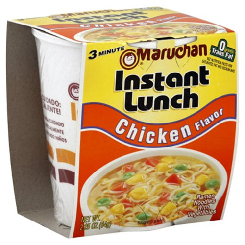 Maruchan CHICKEN FLAVOR Instant Lunch 2.25oz (6 pack) (Maruchan Soup Chicken)