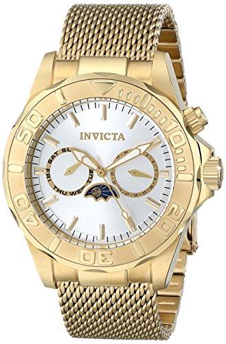 Invicta Men's 10597SYB Pro Diver Analog Display Swiss Quartz Gold Watch