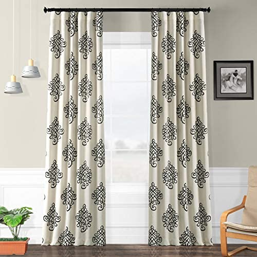 HPD Half Price Drapes BOCH-KC33-120 Blackout Room Darkening Curtain 1 Panel , 50 X 120, Tugra