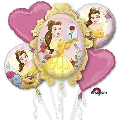 Anagram Beauty & The Beast Bouquet of Balloons: Toys & Games