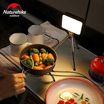 senderismo Mini linterna de 1300 l/úmenes para exteriores acampada luz de tienda de campa/ña Naturehike Moonlight NH18Y001-A