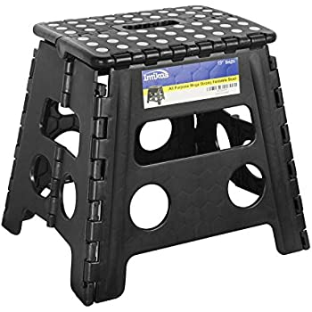 Amazon Com Folding Step Stool 13 Inch Height Premium