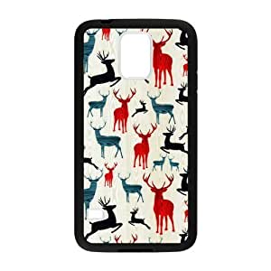 Canting_Good,Deer, Custom Case for Samsung Galaxy S5 (Laser Technology)