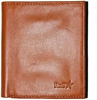 Mens Wallet - Top Quality Genuine Mens leather Wallets With 6+ Card Holder Bifold Wallets for Men