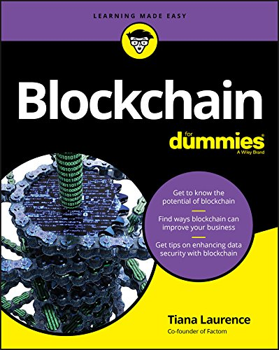 Pdf Computers Blockchain For Dummies (For Dummies (Computers))