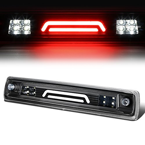 For 15-18 Chevy Colorado/GMC Canyon Black Housing 3D LED High Mount 3rd Tail Brake Light Lamp