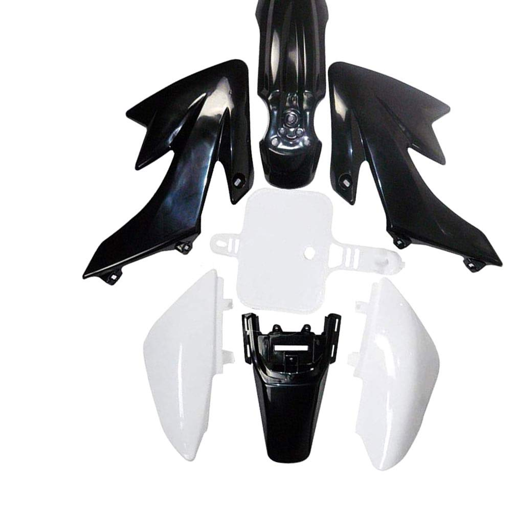 WPHMOTO Plastic Body Fender Fairing Kit and Seat For CRF50 XR50 90cc 110cc 125cc Dirt Pit Bike Black