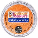 : Dunkin Donuts French Vanilla Flavored Coffee K-Cups For Keurig K Cup Brewers - 32 Pack
