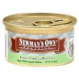Newman's OwnA® Organics Cat Can-turkey Formula, 3-Ounce Units (Pack of 24), My Pet Supplies