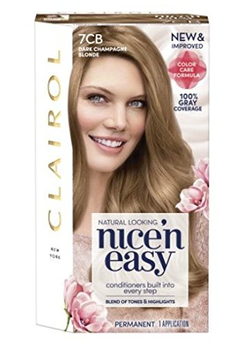 (Clairol Nice 'n Easy Permanent Hair Color 7CB Dark Champagne)
