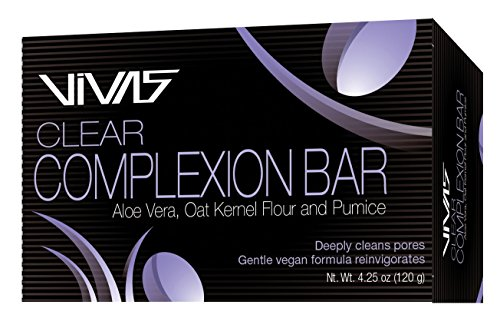 VIVAS Bar, Clear Complexion, 6 Piece