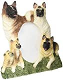 Akita Picture Frame Holds Your Favorite 3 x 5 Inch Photo,  A Hand Painted Realistic Looking Akita Family Surrounding  Your Photo. This Beautifully Crafted Frame is A Unique Accent To Any Home or Office. The Akita Picture Frame Is The Perfect Gift For Akit