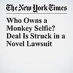 Who Owns a Monkey Selfie? Deal Is Struck in a Novel Lawsuit | Matthew Haag