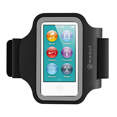 Minisuit SPORTY Neoprene Armband + Key Holder for iPod Nano 7 or 8 / 7th or 8th Gen