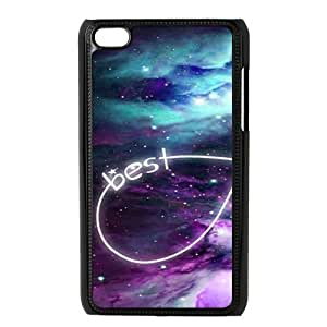 Custom Best Friends Protective Hard PC Back Fits Cover Case for iPod Touch 4, 4G (4th Generation)