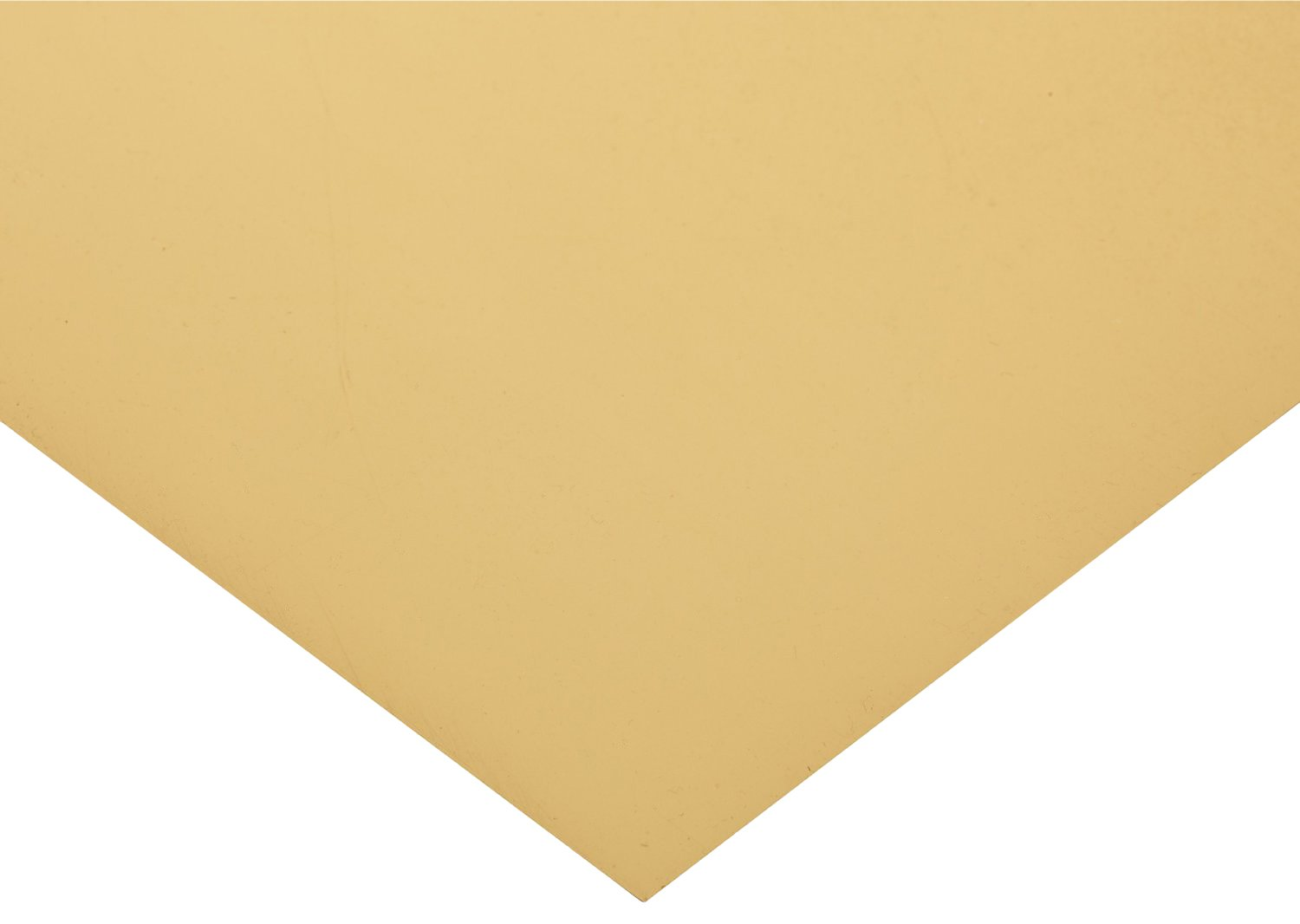 Polyester Shim Stock, Flat Sheet, Tan, 0.004'' Thickness, 10'' Width, 20'' Length (Pack of 10) by Small Parts