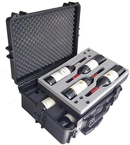 Estuche para vino - Maleta para vino - Mallette - Maletin - Cajón para vino - de MC-CASES: Amazon.es: Equipaje