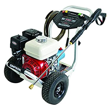Simpson ALH3228-S Professional 3200 PSI (Gas Cold Water) Aluminum Frame Pressure Washer