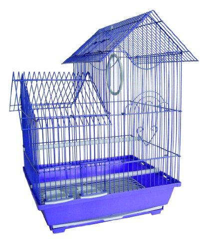 UPC 833775002104, YML Pagoda Top Medium Parakeet Cage, Colors May Vary