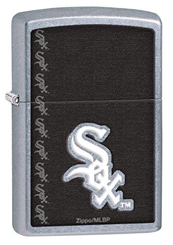 Sox Mlb Zippo Lighter - Zippo MLB White Sox Street Chrome Lighter
