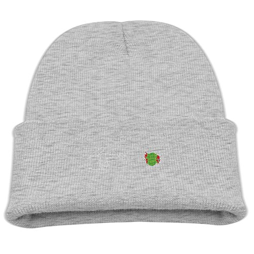 BaPaLa Children's Gun Shoot Watermelon Explode Skull Cap Beanie Soft Winter Knitted - Gun Top Guy Costume