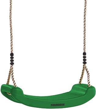 FATMOOSE Asiento para columpio ClassicRider Asiento de plástico Columpio infantil para el jardín, verde oscuro: Amazon.es: Bricolaje y herramientas