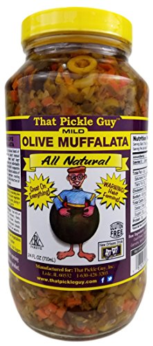 That Pickle Guy All Natural Mild Muffalata Spread (24 oz)