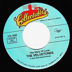the glory of love / i found my love 45 rpm single