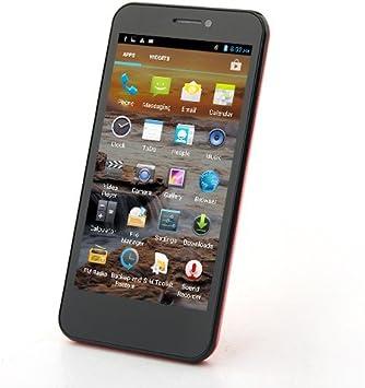 Cubot GT99 - 4,5 pulgadas de pantalla IPS HD (1280x720px) Android 4.2 Quad Core 1.2GHz Smartphone SIM dual 1GB RAM 12.0mp cámara GPS (Rojo, Negro, blanco): Amazon.es: Electrónica