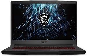CUK GF65 Thin by MSI 15 Inch Gaming Notebook (Intel Core i7, 16GB RAM, 1TB NVMe SSD, NVIDIA GeForce RTX 3060 6GB, 15.6