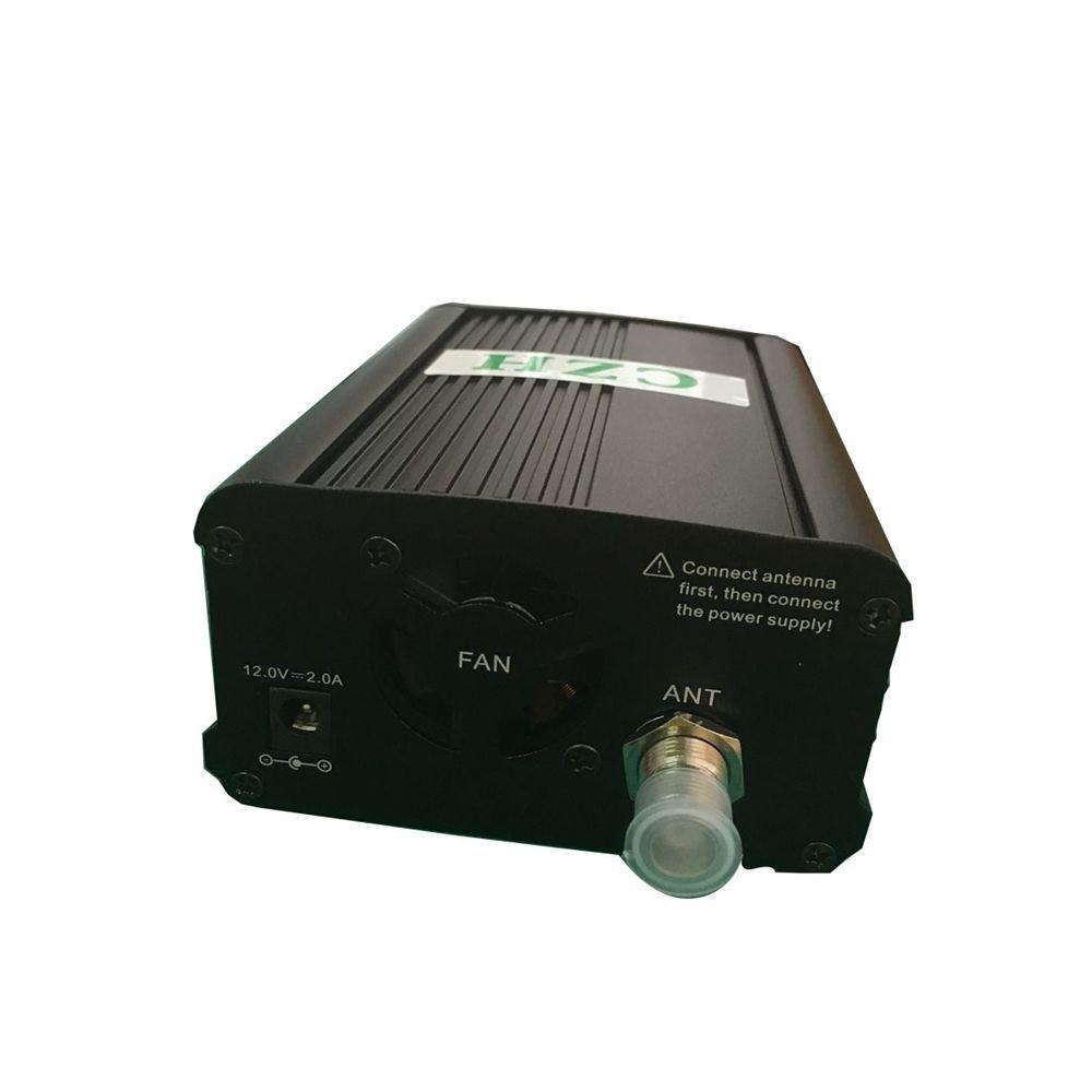 CZH CZE-7C FM Transmitter Mini Radio Stereo Station PLL LCD with Antenna Kit CZHfmtransmitter.com 4351490796