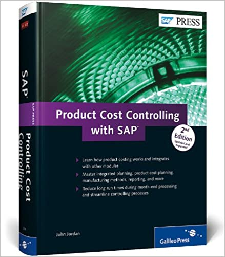 Amazon Com Product Cost Controlling With Sap Sap Co Pc 9781592293995 Jordan John Books