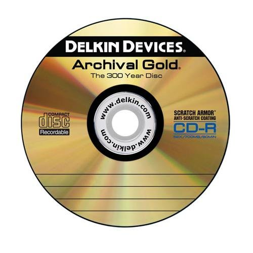 Delkin Devices DDCD-R-SA/25 SPINDLE Retail Cakebox Spindle - 25 Pack