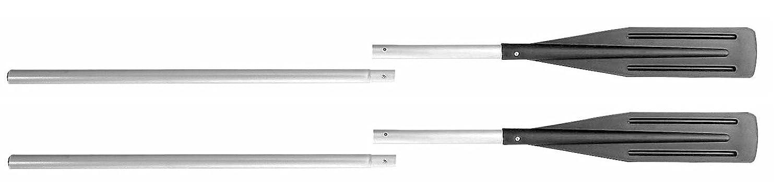 Lot de 2 Pagaies en Aluminium solide 6 m (la Paire) H2o Kayaks c50101