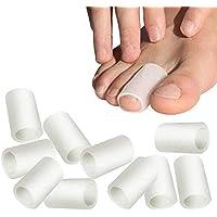 Teepao 10 Pares de Protectores de Dedos