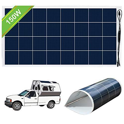 ECO-WORTHY 150 Watt 12V Bendable Lightweight Flexible Solar Panel with
