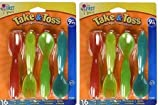 The First Years Take & Toss Toddler Flatware - 32 Count
