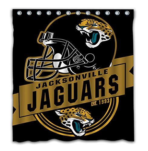 - Felikey Custom Jacksonville Jaguars Waterproof Shower Curtain Colorful Bathroom Decor Size 66x72 Inches