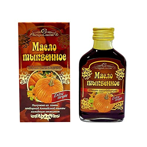 (PREMIUM QUALITY COLD PRESSED EXTRA VIRGIN PUMPKIN SEED OIL. FRESH STOCK DIRECT FROM SIBERIA (3.38 fl oz /100 ml))