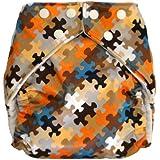 Fuzzibunz One Size Elite Cloth Diapers Limited Edition (Puzzle)