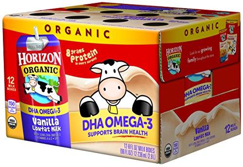 Horizon Organic Omega 3 Vanilla Ounce product image